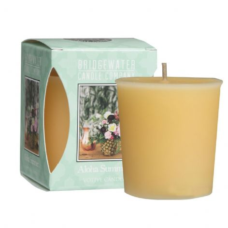 Aloha Summer Boxed Votive Candle